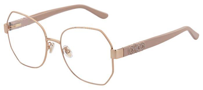 Jimmy Choo JC 253F Prescription Glasses from $171.70
