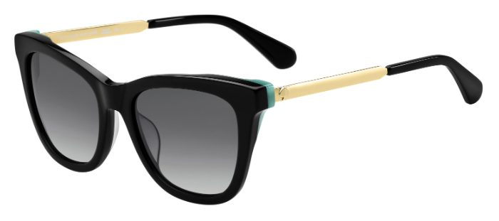 db956449f8c65 ... Kate Spade ALEXANE S Sunglasses. 807 (9O) - BLACK (DARK GREY SF)