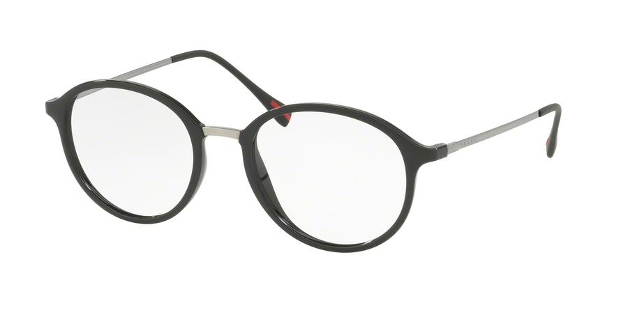 5ecf248a28e2 Prada Sport PS 01IV Prescription Glasses 1AB1O1 - BLACK