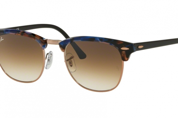 1c8e0ef2ae Ray-Ban RB 3016 CLUBMASTER Sunglasses.  143.00. 125651 - SPOTTED BROWN BLUE