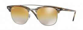 Ray-Ban RB 3816 CLUBMASTER DOUBLEBRIDGE Sunglasses