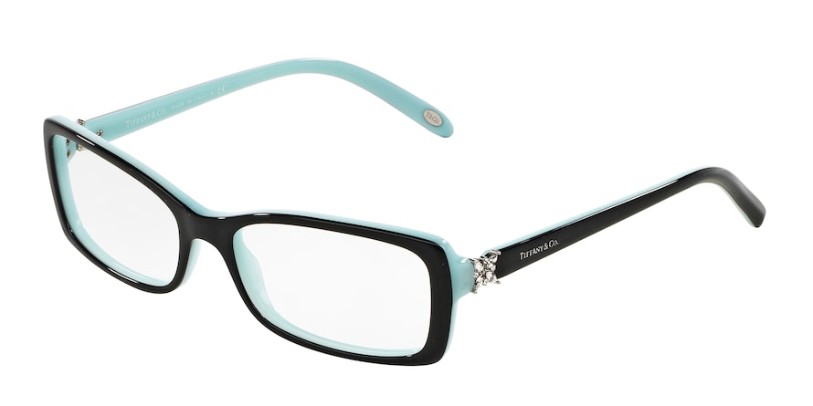 8055 - BLACK ON TIFFANY BLUE