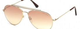 Tom Ford TF 0497 INDIANA Sunglasses