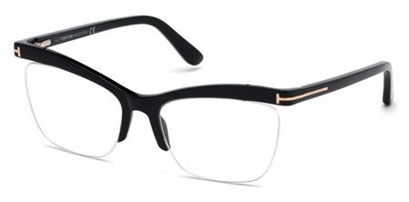 fe20829445b Tom Ford TF 5540 Prescription Glasses. 001 - shiny black